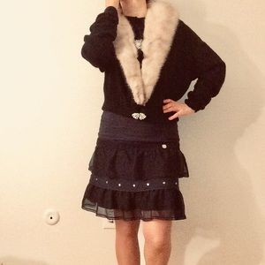 Jackets & Blazers - Vintage Rare Authentic jacket with Mink collar